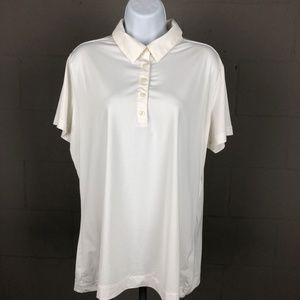 Nike Golf Women's Polo Size XL White DZ23